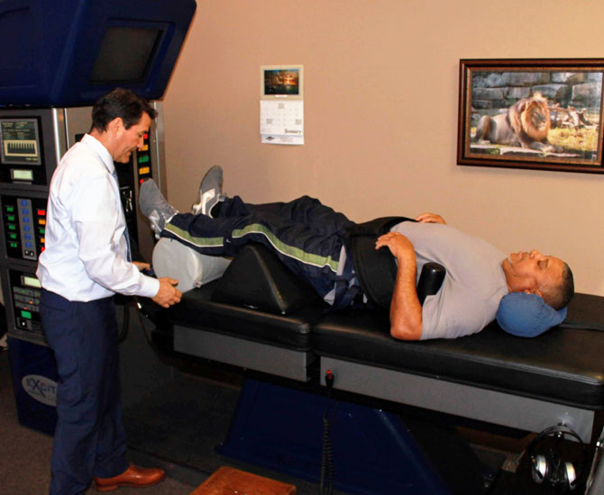 Chiropractor Fort Worth TX Mark Williams Spinal Decompression